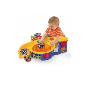Fisher-Price Lil' Zoomers Spinnin' Sounds Speedway by Fisher Price  (136)Buy new: $34.99  $25.80 28 used & new from $15.99(Visit the Most Wished For in Play Vehicles list for authoritative information on this product's current rank.)
