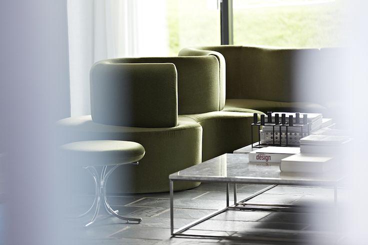The famous Cloverleaf Sofa  Danish Interior Design Budapest