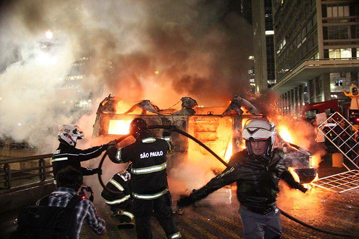 Brazil protests continue