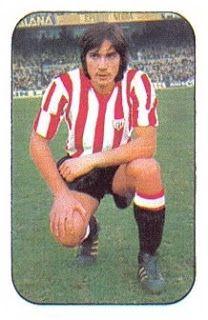 Oñaederra. Athletic Club de Bilbao. Cromos Este. Temporada 1976-77.