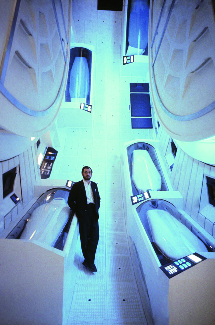 Stanley Kubrick on the set of 2001: A Space Odyssey. Photo: Jean-Philippe Charbonnier/Gamma-Rapho via Getty Images