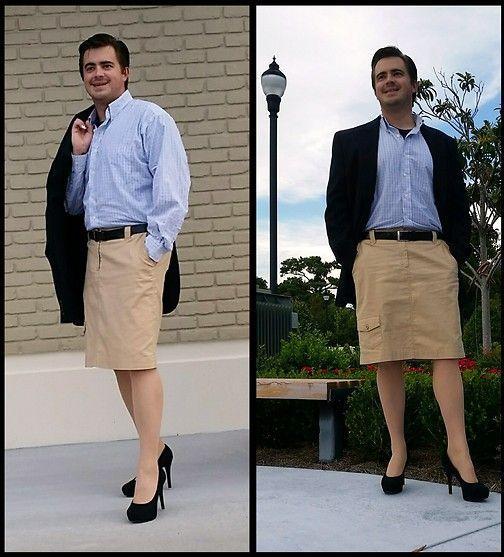 Men in heels Men in skirts