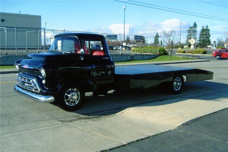 1957 Chevrolet Custom Ramp Truck Barrett Jackson Auction
