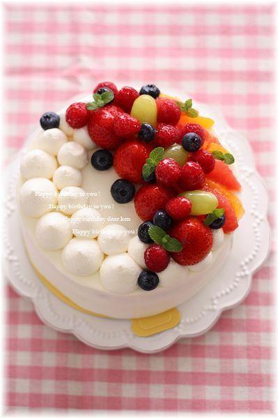 うちの旦那の誕生日ケーキ♪ by あいりおーさん | レシピブログ - 料理 ...
