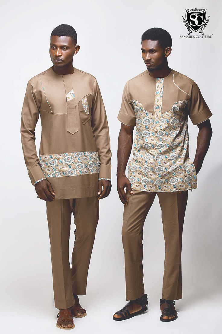 From Agbada to George! Denrele fronts Modern Multicultural 'Sammies Couture' Collection