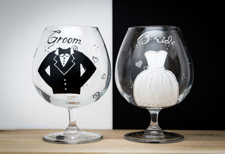 Bride & Groom :D glasses