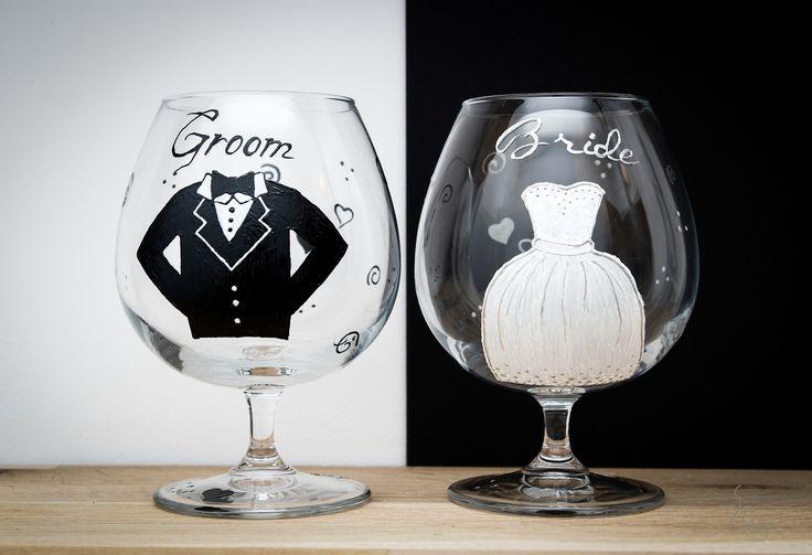 Bride & Groom :D glasses