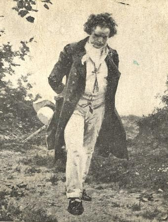 Ludwig von Beethoven, Principal of Glee High School, on his way to do a teacher evaluation