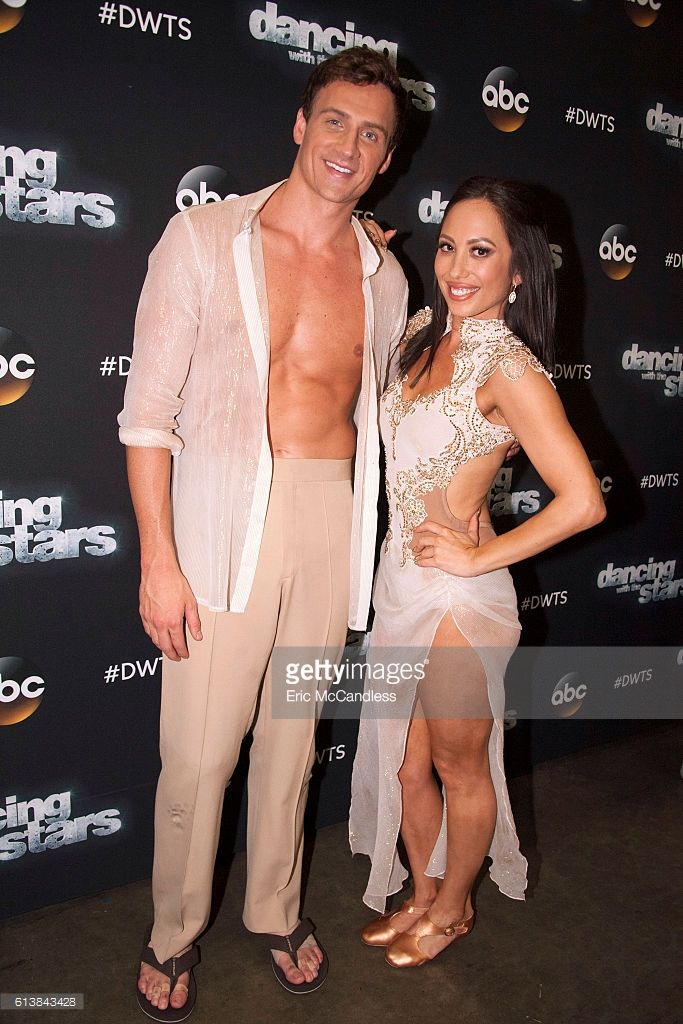 Ryan Lochte and Cheryl Burke: The nine remaining celebrities will set out to leave a lasting impression with their dances as they commemorate their most memorable year, on 'Dancing with the Stars,' live, MONDAY, OCTOBER 10 (8:00-10:01 p.m. EDT), on the ABC Television Network.