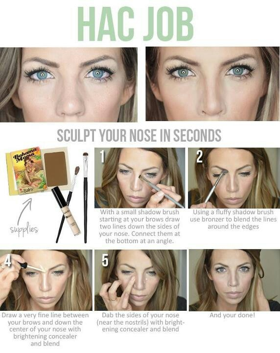 Nose job, I need to master this in the mean time!!!