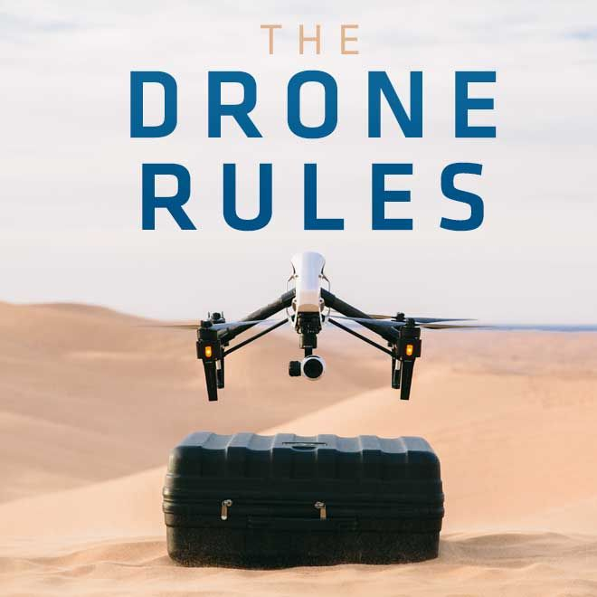 Here is a quick overview of the FAA's rules for flying a drone or UAV. It's important to know the rules and laws before you fly! Infographic graphic + video