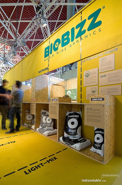Biobizz Tradeshow Booth #exhibition #tradeshow