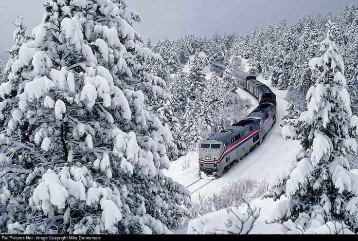 Amtrak GE P42DC Union Pacific's Moffat Tunnel Subdivision ...