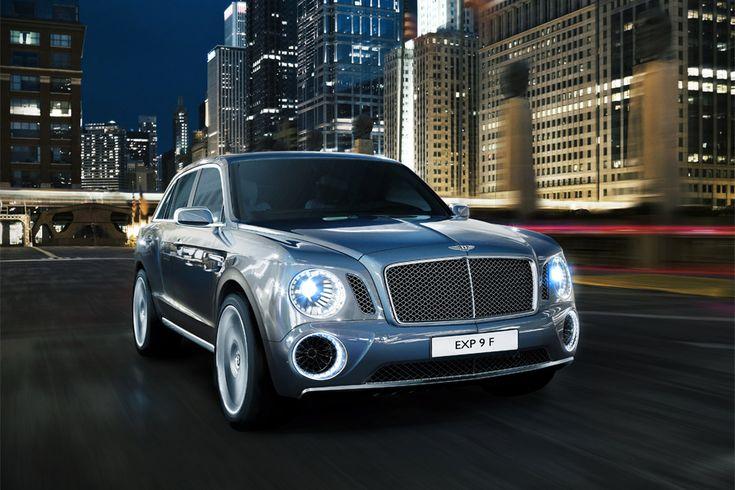 #Bentley #SUV #concept
