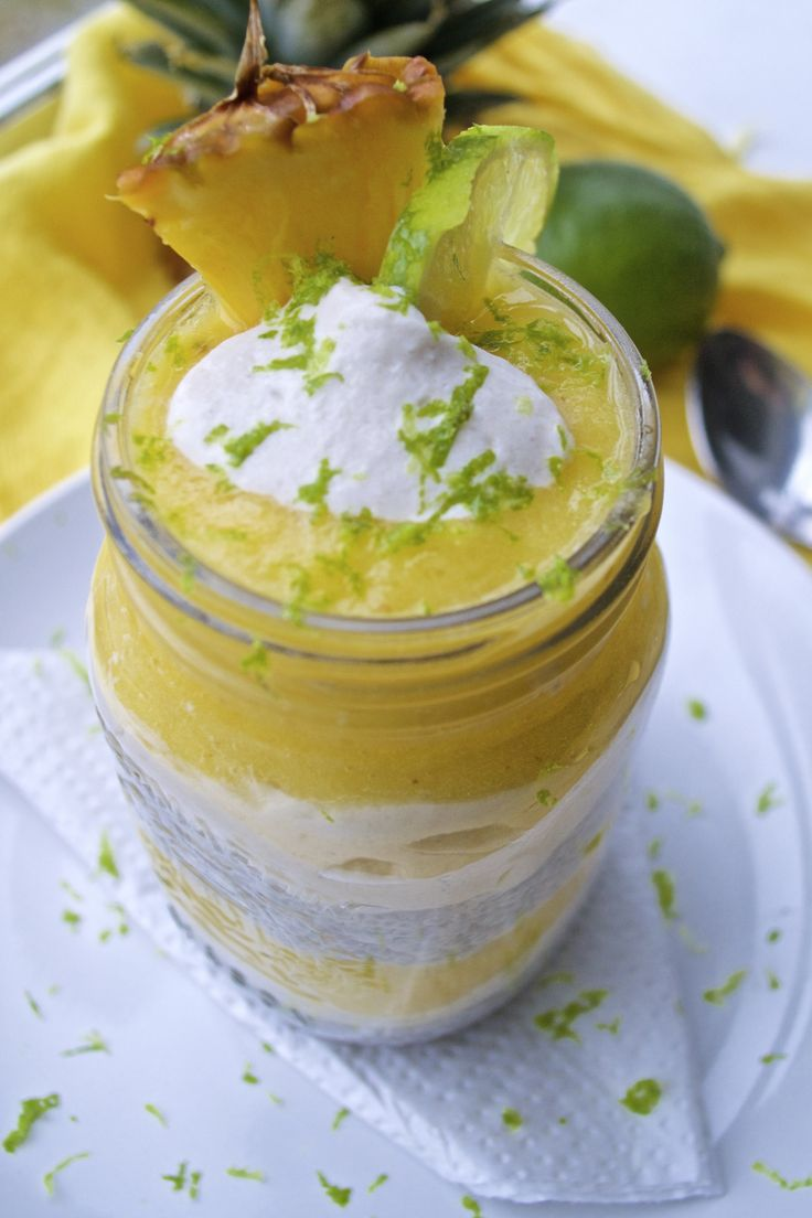 Pinacolada Chia Pudding – Just Soul Food