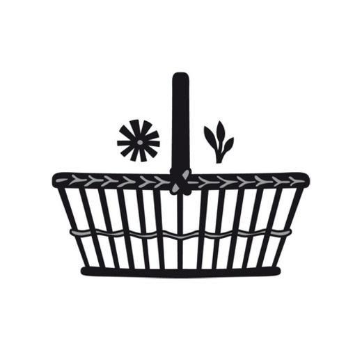 Marianne Design Craftables Die - Daisies Basket CR1207 < Shop | Cuddly Buddly Crafts