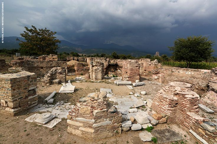 Byzantine town in Thrace located on the Via Egnatia near the modern Greek city of Komotini