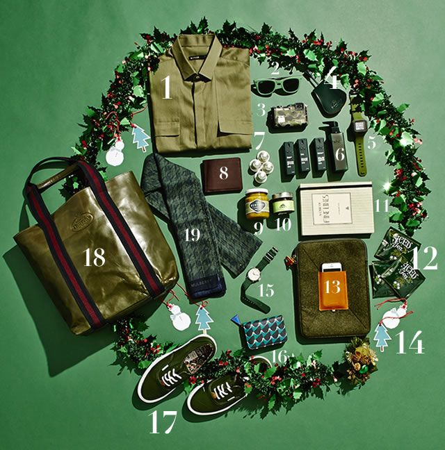 19 #giftideas for all the men in your life! #christmas #whattobuy #flatlay