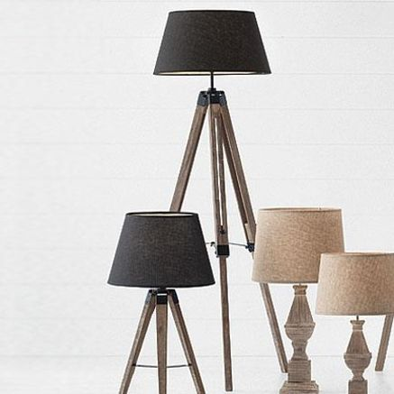 36 best wood tripod floor lamp images on pinterest