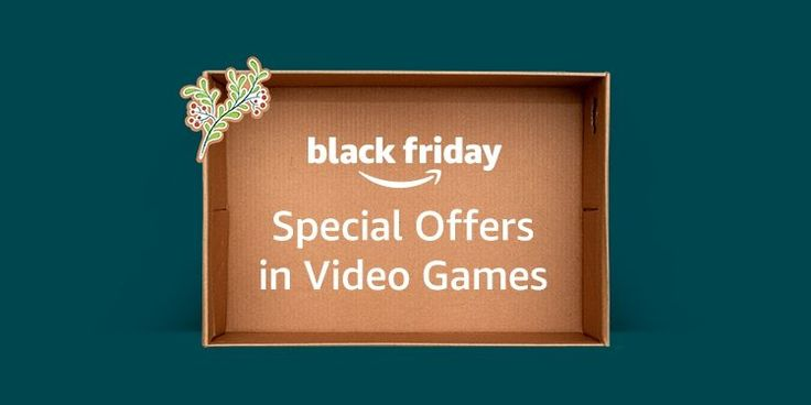 Special #blackfriday offers in #videogames #amazon