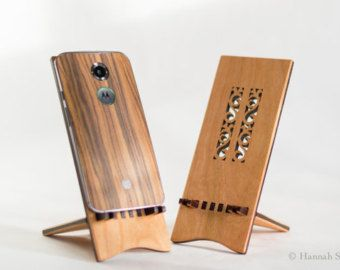 Docking Stand for iPhone 5 iPhone 6 and iPhone 6 por ideasinwood
