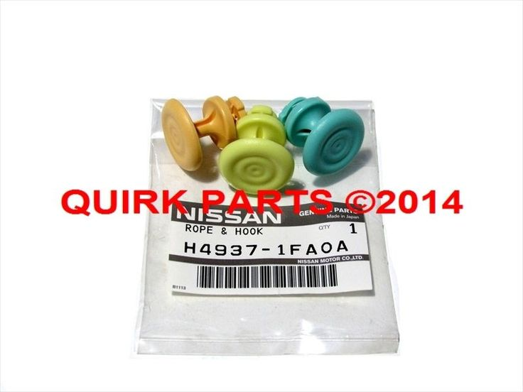 Awesome Amazing 2009-2014 Nissan Cube | Rope Ripple Hooks Set Of 3 OEM NEW Genuine H4937-1FA0A 2018