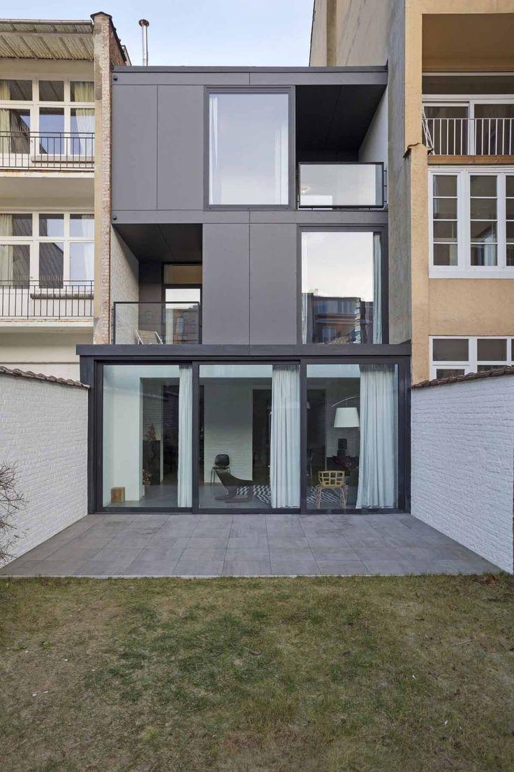 17 beste idee n over moderne architectuur woning op pinterest moderne architectuur en moderne - Renovateer een huis van de jaren ...