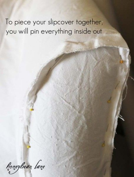how to make a slipcover                                                                                                                                                                                 More