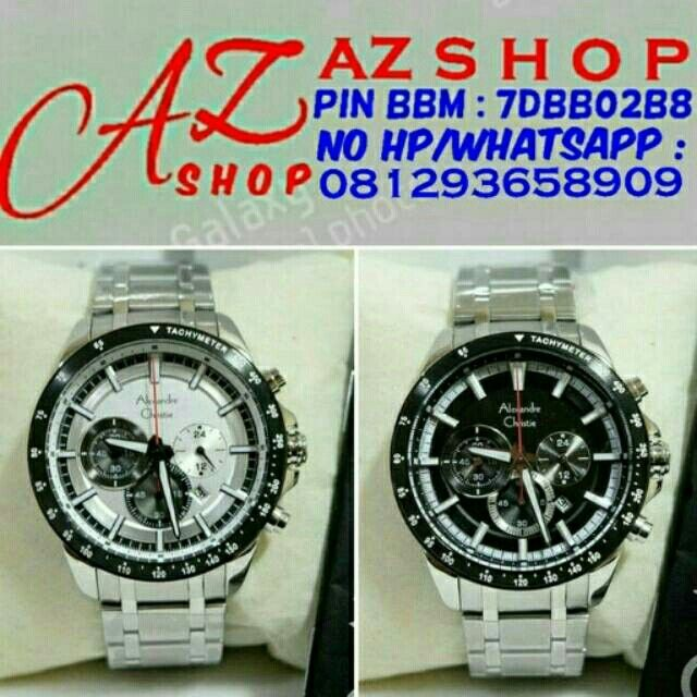 Saya menjual Jam Tangan Pria Alexandre Christie AC 6447 MC Silver Rantai Original Murah seharga Rp1.020.000. Dapatkan produk ini hanya di Shopee! https://shopee.co.id/azshop30/216819467 #ShopeeID