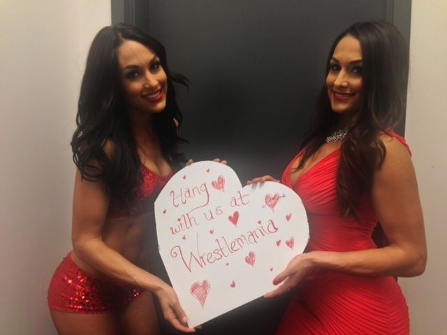 Want to fly to New Orleans with three of your friends this April to go behind the scenes of WWE #WrestleMania XXX and meet your favorite #WWE Superstars like The Bella Twins. Entries start at only $10 and directly support Make-A-Wish America! The more you enter, the more chances you have to win. Enter here for your chance to win!: http://omaze.com/WWE #Stars4Hope