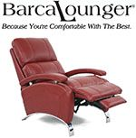 Barcalounger Leather Recliner Chair - Lounge Chair.  Recliners, Chairs, Sofas, Office Chairs and other Furniture.