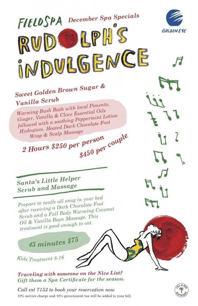 Rudolf's Indulgence @ GoldenEye #DDHRM #goldeneye #jamaica #fieldspa