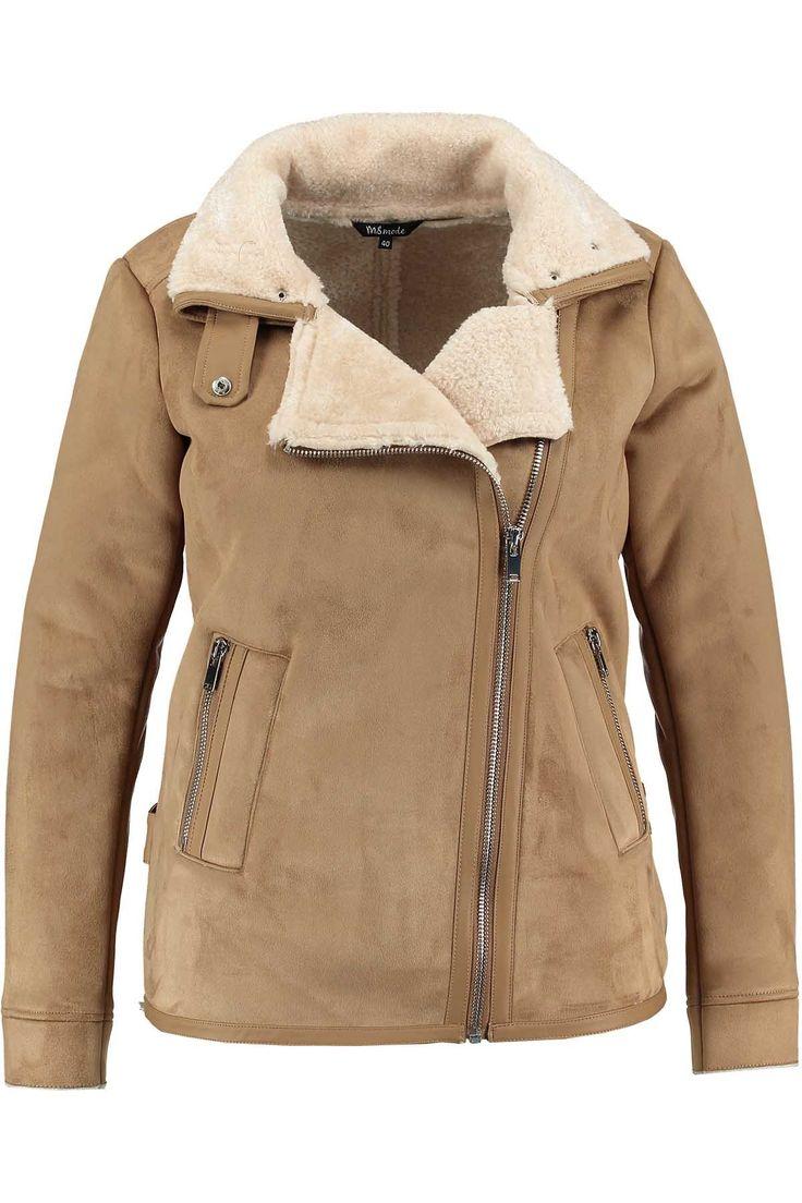 Lammy Jacket | Fashion | Plussize fashion | Imitatie lammy jack