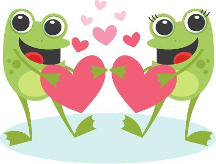 Daily Freebie 2-8-15: Miss Kate Cuttables--Toads in Love Valentine scrapbook cuts SVG cutting files doodle cut files for scrapbooking clip art clipart doodle cut files for cricut free svg cuts