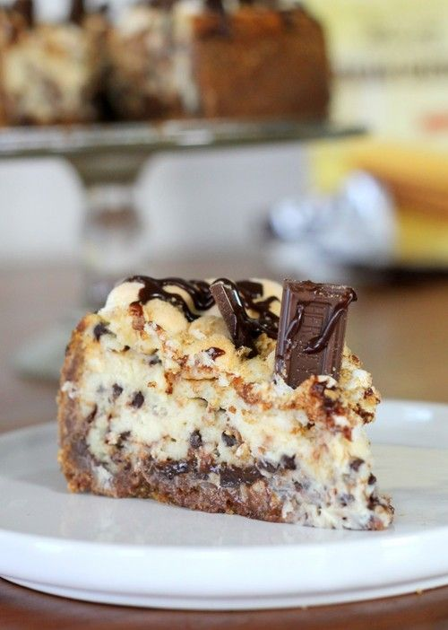 s'mores cheesecake.
