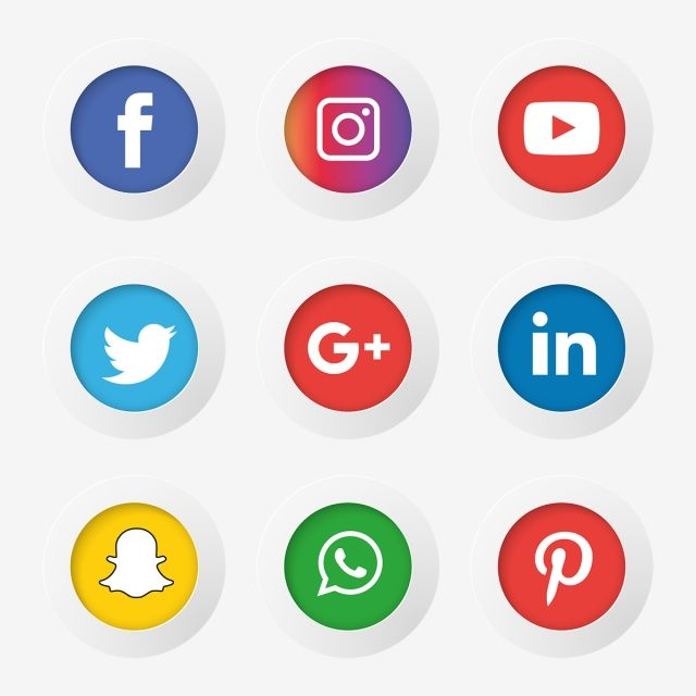 Pin By Golmohamadi Sh On Hd Background Download Social Media Icons Icon Set Media Icon