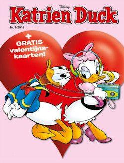6x Katrien € 15,96: Lees iedere maand de avonturen van Katrien en haar nichtjes Lizzy, Juultje en Babetje in Katrien's eigen maandblad Katrien Duck!
