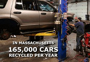 Worcester Polytechnic Institute study looks at how auto recyclers affect Massachusetts carbon footprint