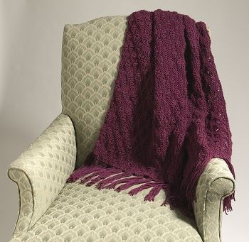 17 Best images about Knit blankets on Pinterest Free ...