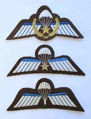 Holland-Dutch-Army-Paratrooper-039-s-A-B-amp-Combat-Jump-Wings-IADL