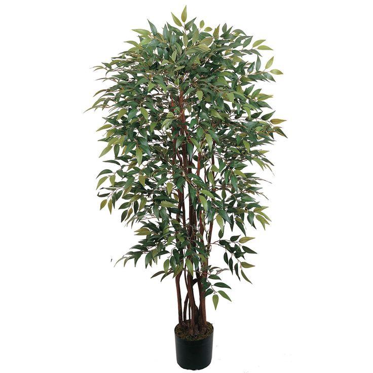 4u0027 potted similax silk tree - Silk Trees