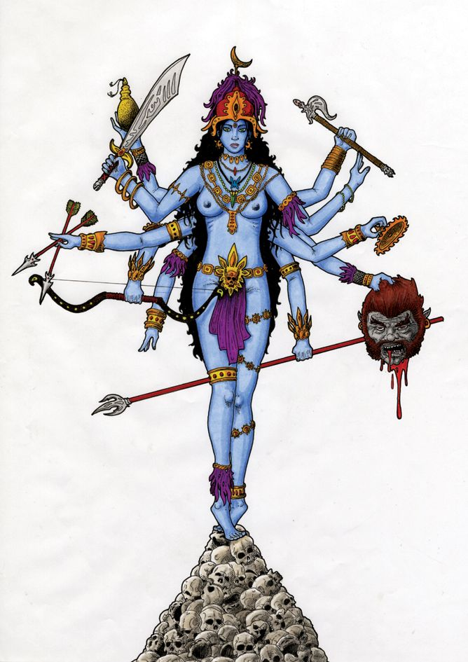 the importance of kali in hinduism Read on to know why does goddess kali stand on lord shiva with her tongue sticking out and about other symbolisms related to kali's shiva in hinduism shiva.
