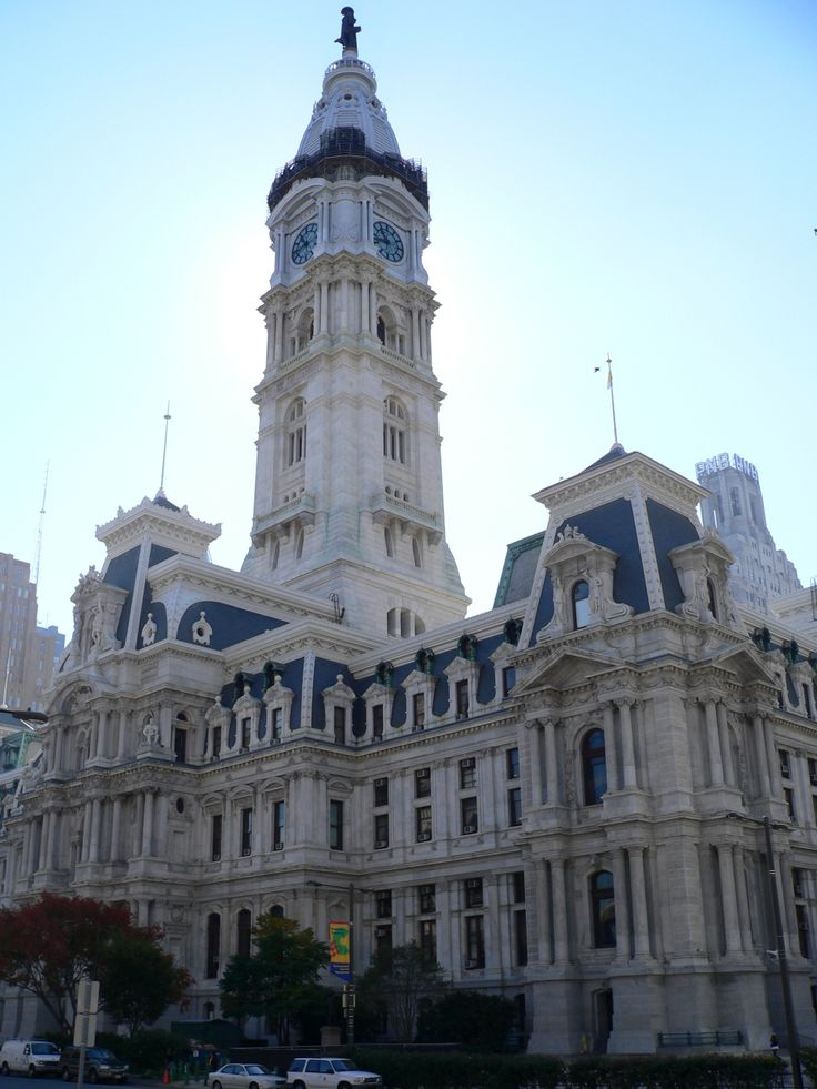 Philadelphia City Hall. One of the most photographed city halls nationwide.