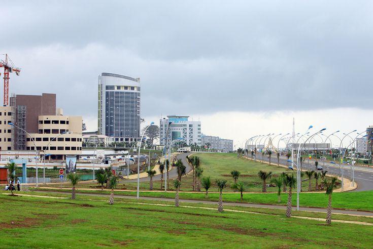 Una vista de Malabo, capital de Guinea Ecuatorial.