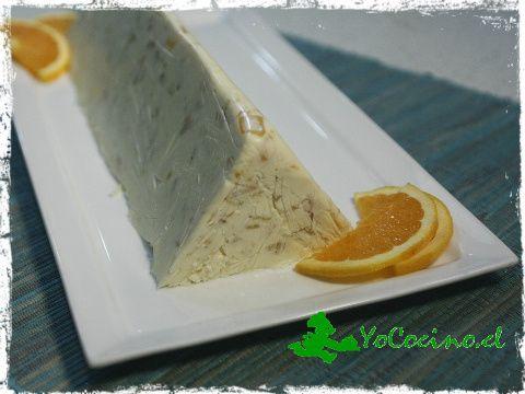 Panacota con salsa de naranja. www.yococino.cl