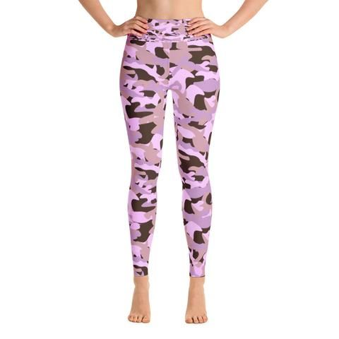 Pink Army Yoga Leggings from Azzurra Soul.