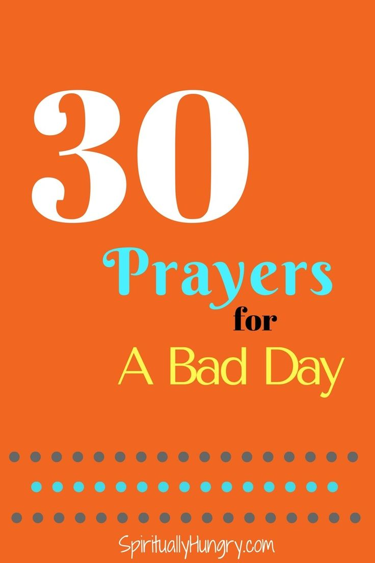 Bad Day | Prayer For Help | Turn To God