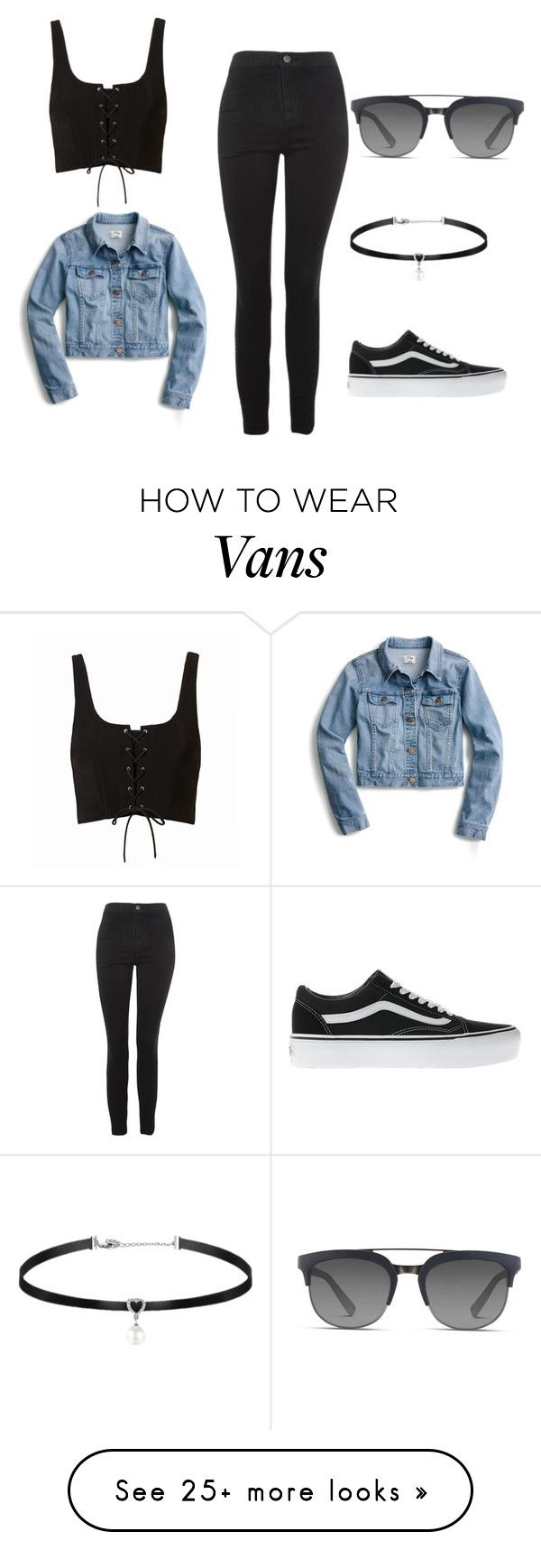 """""""Untitled #30"""" by ivaila02 on Polyvore featuring Topshop, J.Crew, Vans and Dolce&Gabbana"""