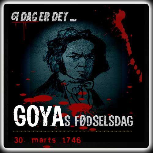 I dag er det 270 år siden, at Goya blev født. Hans makabre kunst har mange tråde frem til det, der siden blev til horror.  http://www.mxrket.dk/mar30-Goya.html