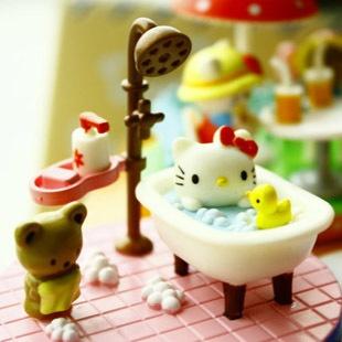 bath time! Polymer Clay, masa flexible, cold porcelain, masa francesa, porcelana fria